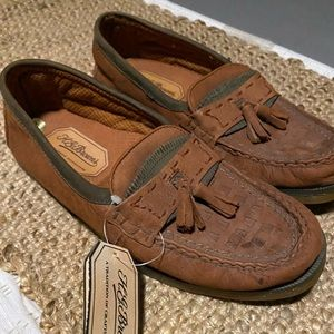 H.g.browns vintage size 8 leather brand new
